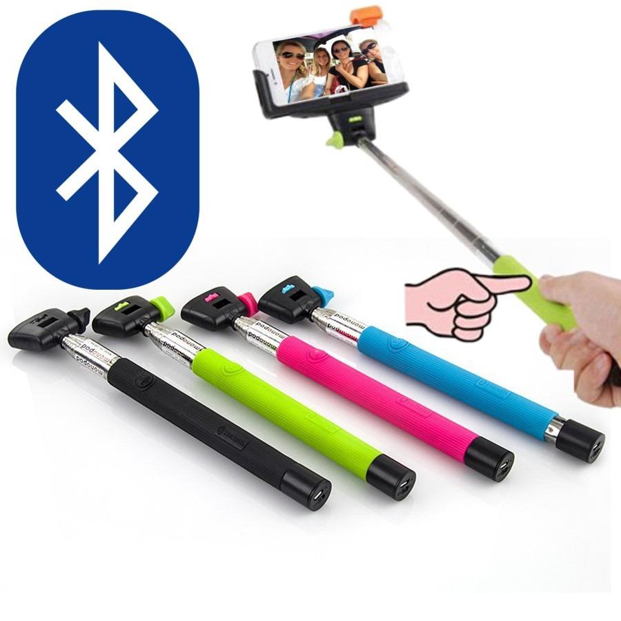 Brazo Selfie Monopie Bluetooth Monopod Iphone Samsung Gopro ...